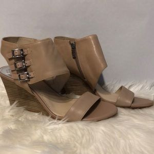 Vince Camuto Pale Pink Wedges
